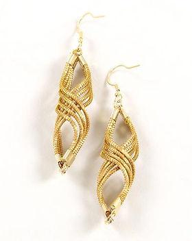 CrossTrade Spiral Drop Golden Grass Earrings. Fair Trade and artisan-made. https://www.crosstrade.org/collections/jewelry