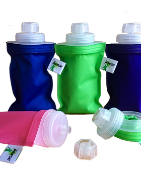 Simple Switch The Powch. Eco-friendly drink or food pouch.