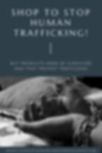 Shop to Stop Human Trafficking!