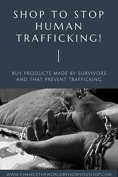 Shop to Stop Human Trafficking!