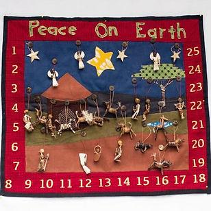 Amani Ya Juu African Advent Calendar. Handmade and fair trade. https://amaniafrica.org/collections/seasonal