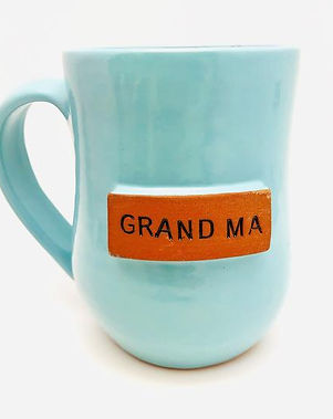 Papillon Grandma mug. Handmade and fair trade. https://papillonmarketplace.com/collections/all