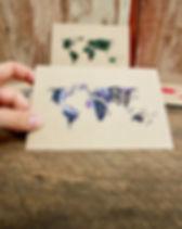 International Blessings World Greeting Cards