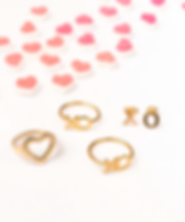 31 Bits Valentine's Day Jewelry XO Ring and Earrings.
