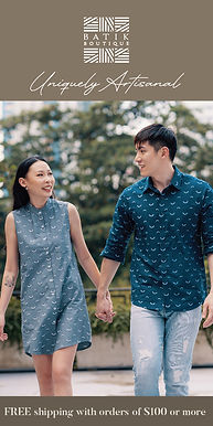 The Batik Boutique: Uniquely Artisanal Batik Clothing for Men