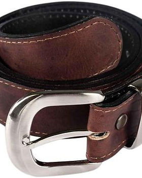 Atitlan Leather Money Stash Belt.