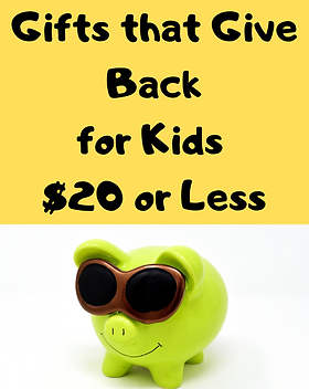 Gifts for Kids that Give Back for $20 an