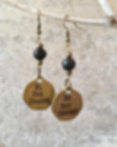 Papillon Enterprise Be The Change Earrings. Ethically handmade in Haiti. #bethechange https://papillonmarketplace.com/collections/jewelry-all/womens