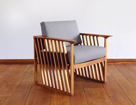 Made Trade arm chair. Ethically-made furniture.
