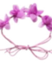 Simple Switch Purple Flower Crown.