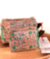 Sari Bari Mota makeup bag.