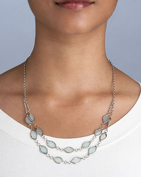 Ten Thousand Villages Soft Shimmer Necklace. Fair Trade Jewelry. https://www.tenthousandvillages.com/jewelry