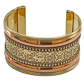 GIfts with a Cause India Metal Cuff Braceclet. Fair Trade. https://www.giftswithacause.com/Fair-Trade-Jewelry-s/1818.htm