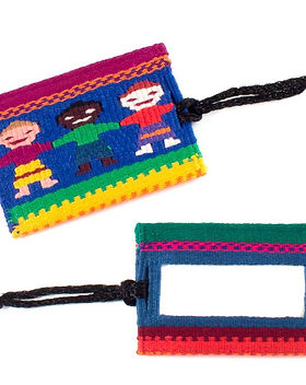 Mayan Hands fair trade luggage tag. https://www.mayanhands.org/collections/small-accessories