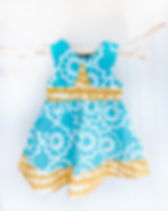Naupaka organic fair trade girls twirl dress.