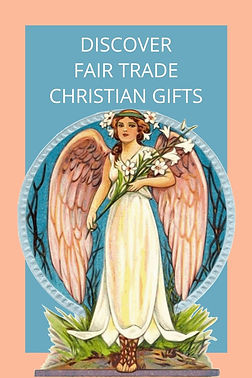 Discover Fair Trade Christian Gifts.  Christian gifts which are handcrafted, fair trade and give back to bless those who create them!