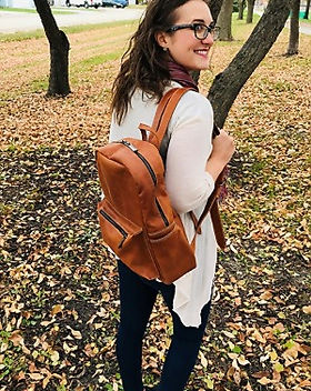 Beza Threads leather backpack. Ethically-made and gives back to rescue children from human trafficking in Ethopia. http://www.bezathreads.org/