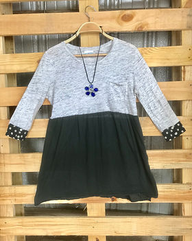 2nd Story Goods upcycled women's top.