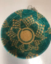 Hands Producing Hope Teal Basket. http://www.handsproducinghope.org/shop/?category=Baskets