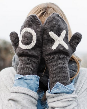 Bought Beautifully Wool X O Mittens. Ethically handmade in Nepal.