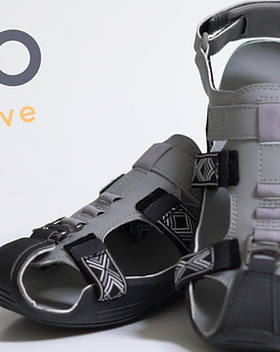 GroFive Expandals - shoes that grow five sizes with your kid and give back to provide shoes for children in poverty! https://grofive.com/