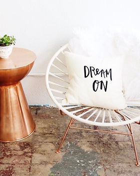 Made Global Dream On Throw Pillow. Ethically handmade and screen printed in Kenya. https://www.madeglobal.org/search?q=pillow