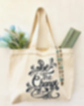 "Papillon ""Be the Change"" Tote."