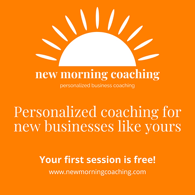New Morning Coaching: Personalized Business Coaching for New Businesses