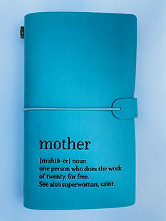 Blue Mother Journal MAYA Collection