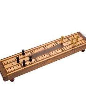 Fair Tribe Fair Trade Wooden Cribbage Game.