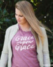 139Made Grace Upon Grace Women's Tee.