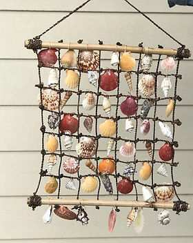 Shop With a Mission shell wall hanging. Fair trade.