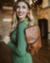 Amma's Umma leather backpack. https://ammasumma.com/collections/bags