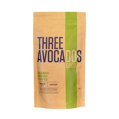 Three Avocados