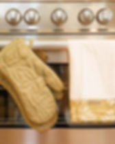 Amani Ya Juu oven glove set. Fair trade. https://amaniafrica.org/collections/kitchen-and-home