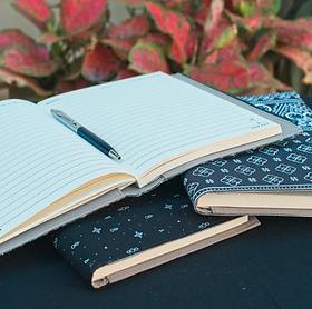 Sak Saum Handcrafted Legacy Journals.