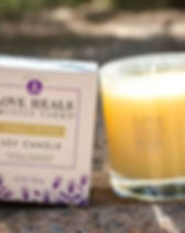 Amplify Peace Vanilla Vetiver Candle - Thistle Farms.