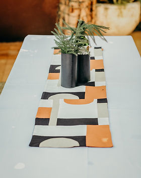 Haiti Design Co pathwork table runner. http://haitidesignco.org/shop/?category=Home+%26+Gift