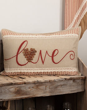 The Village Country Store Love Pillow. https://www.thevillagecountrystore.com/