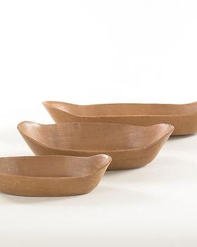 CrossTrade terracotta baking dish set. Fair trade and handmade in Brazil. https://crosstrade.org/collections/lemontree-ceramic