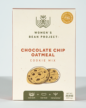 Rethreaded Chocolate chip cookie mix from the Women's Bean Project.