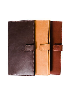 Karama Collection Travel Wallets. Ethiopian Leather.