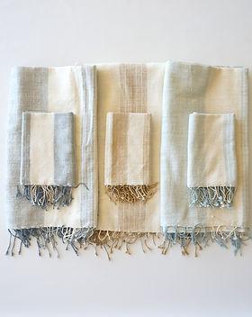 Karama Savannah towels. Ethiopian cotton.