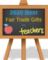 2020 Fair Trade Gifts for Teachers that Give Back.