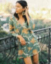 Naupaka Barcelona mini dress. Ethically-made. https://naupakastore.com/collections/women