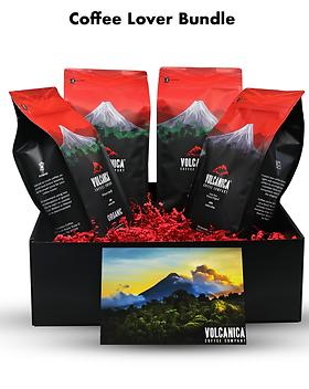 Volcanica Coffee Company Coffee Gift Box