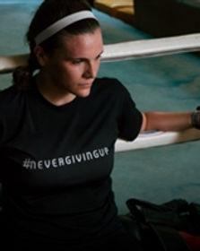Nightlight woman's athletic shirt. Ethically made fashion securing women's freedom #slowfashionhttps://store.nightlightinternational.com/category_s/159.htm