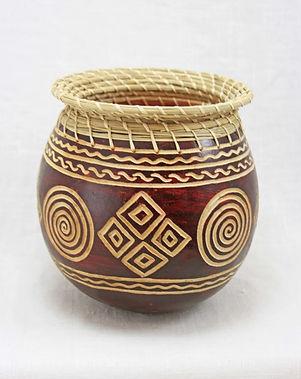 Rafiki Foundation Gourd Basket.