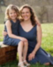 Elegantees Mommy + Me matching dresses.j