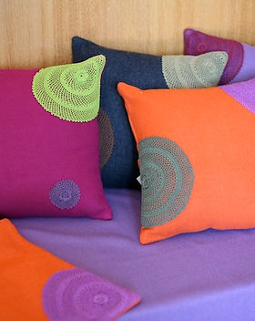 Eternal Threads Felt Pillow Covers. Handmade and fair trade. https://eternalthreads.org/product/felt-pillow-cover/
